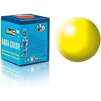 Revell 36312 Aqua Color - Pintura acrílica mate sedoso (18 ml), color amarillo brillante
