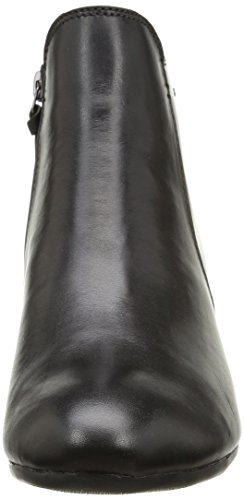 Clarks Melanie su GTX, Stivali Donna Nero (Black Leather)