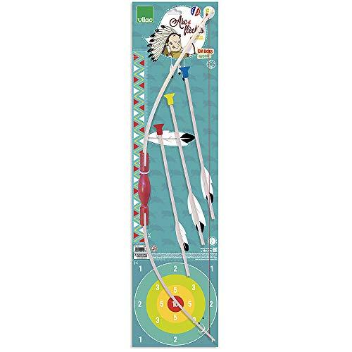 Kinder Preisgekrönte Kostüm - Vilac 2919 Bogen und 3 Pfeile, Mehrfarbig