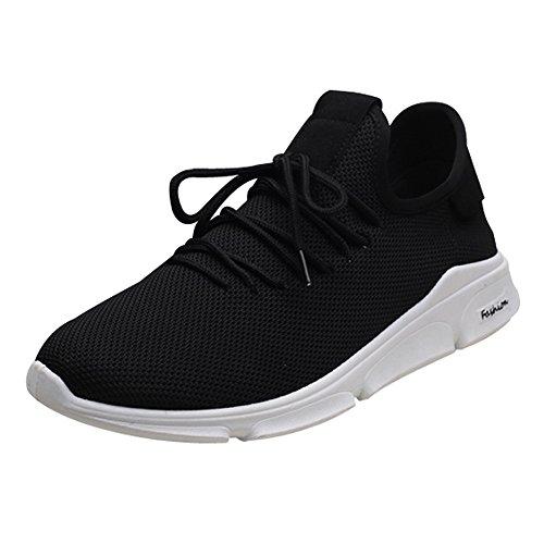 。◕‿◕。 Meilleure Vente! LuckyGirls Automne D'été Mode Unisex Hommes Femmes Sneaker Léger Respirant en Maille Running Fitness Sports Shoes 39-44