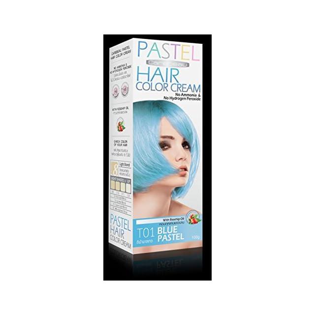 teinture coloration cheveux permanente pastel goth emo elfe turquoise bleu pas dammoniac - Coloration Permanente Bleu