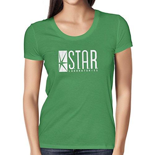 TEXLAB - STAR Laboratories - Damen T-Shirt Grün
