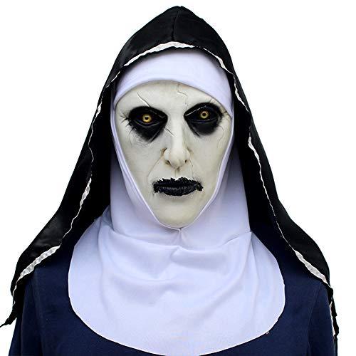 SJZC Maske Halloween Cosplay Weiblicher Geist Masken Erwachsene Prop Kind Spielzeug