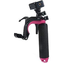leegoal Étanche Poignee Grip pour Gopro, Rallonge réglable Selfie Stick Poche Monopode Compatible avec Gopro4 GoPro/6/7 Black Camera