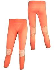 Crivit® Sports Mujer Función–Pantalón largo–caliente & seco en cada unidad, color rosa - rosa, tamaño M [40/42]