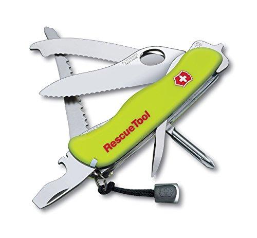Victorinox Rescuel Tool - Navaja, color flúor