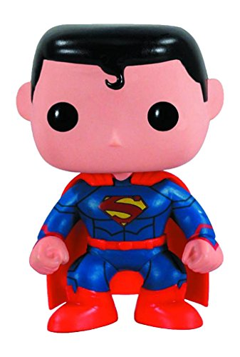 Pop Heroes Superman Vinyl Figure New 52 Version (Muskel Superman Kostüm)