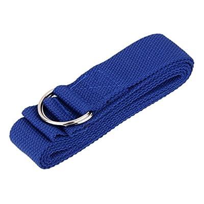 180cm Yoga Stretchgürtel Fitnessübungen Ausbildung Gurtband Widerstandsband