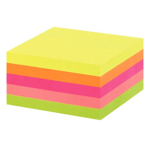 notes-repositionnables-office-depot-76-x-76mm-neon-400-stick-notes-each-color-76-x-76-neon