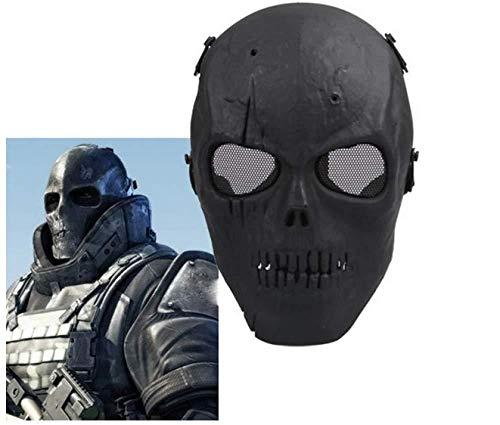 Halloween Maske Maskerade Anzieh Maske Junge Hip-Hop Tanz Requisiten Ball Party Kostüm Masken Cosplay Scary Solid Full Face Für Erwachsene (Hip Hop Tanz Kostüm Für Erwachsene)