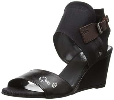 G Star Womens Gable Inglewood Fashion Sandals GS31460/900 Black 3 UK, 36 EU, 5 US, Regular