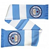 Official Manchester City Crest Bar Scarf