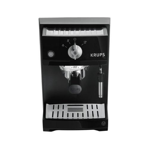 Krups XP 5210 Machine à expresso Piano 1 l Noir/acier inoxydable