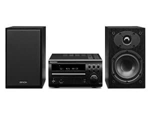 Denon D-M39 Micro-Kompaktanlage (CD, UKW-Tuner, 2x 30 Watt, USB) schwarz/schwarz