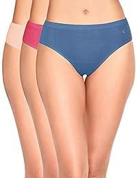 Enamor Women's Cotton Panty (Pack of 3)