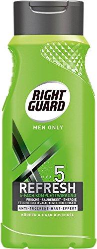 6-x-right-guard-duschgel-korper-haar-for-men-only-5-refresh-je-250-ml-hautfreundlich-mit-frische-eff