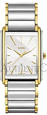 Rado Integral Two-Tone Stainless Steel Quartz Silver Dial Mens Watch R20996103
