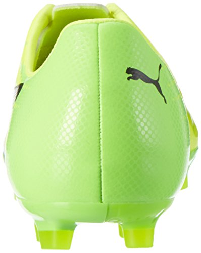Puma Evospeed 17 Sl S Ag, Chaussures de Football Homme Jaune (Safety Yellow-puma Black-green Gecko 01)