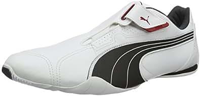Puma Unisex-Erwachsene Redon Move Sneakers, Weiß (White-Black-Ribbon Red-Puma Silver-Dark Shadow 01), 36 EU
