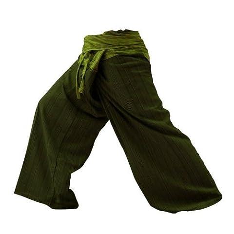 2 TONE Thai Fisherman Pants Yoga Trousers FREE SIZE Plus