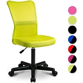 Kinderschreibtischstuhl grün  Amazon.de: SixBros. Bürostuhl Drehstuhl Schreibtischstuhl Grün ...