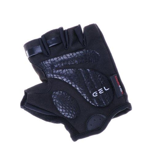 Ultrasport Fahrrad Handschuhe, schwarz, XL, 10214 - 4