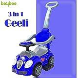 Baybee Geeli Kids Ride On Push Car Toy for Babies-Parent Control Push Bar