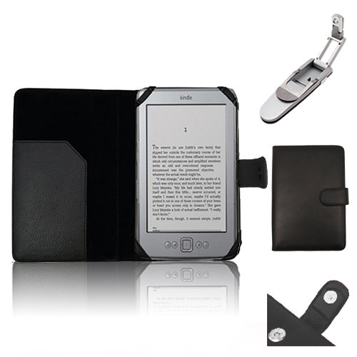 Xtra-Funky Hülle Kompatibel mit Kindle 4 (Schwarz oder Silber 6