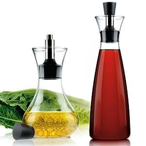 Eva solo ensemble mélangeur à vinaigrette et bouteilles à huile et vinaigre anti-fuites