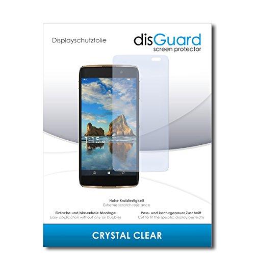 disGuard® Bildschirmschutzfolie [Crystal Clear] kompatibel mit Alcatel Idol 4 Pro [2 Stück] Kristallklar, Transparent, Unsichtbar, Extrem Kratzfest, Anti-Fingerabdruck - Panzerglas Folie, Schutzfolie