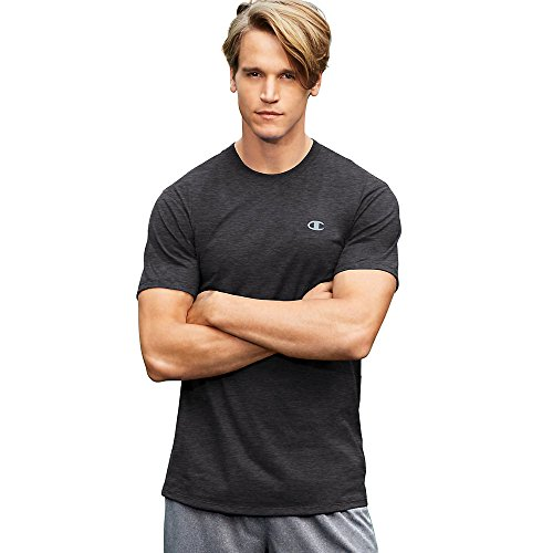 Mens Cotton Heather Champion Granite T0351 Tee Basic Vapor FEnwPwHdq4