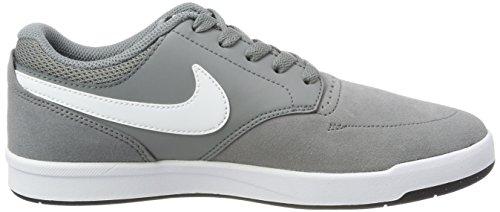 Nike Men Sb Focus Sneakers Grigio (cool Grigio / Bianco-nero)