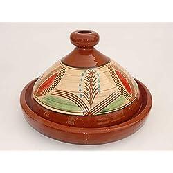 Marrakech Accessoires–Tajín marroquí (para cocinar (Diámetro 35cm para 3–5Personas