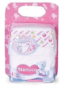 Nenuco - 700004497 - Accessoire pour Poupée - Le Pack de 5 Couches