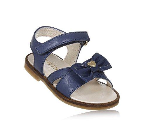 6d693c49bdbc1 Twin-Set Sandale Bleue en Cuir