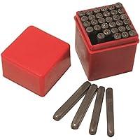 Hilka 62990036 - Juego de punzones (diseño de números y letras)