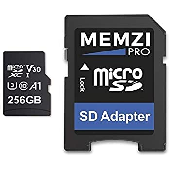 MEMZI PRO 256 GB, 100 MB/s, Tarjeta de Memoria MicroSDXC de ...