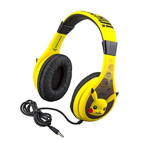 Pokemon Pikachu cuffie per bambini con di limitatore di volume integrato  per Kid friendly Safe ascolto
