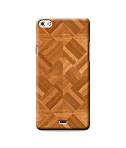 Be Awara Wooden Pattern Designer Mobile Phone Case Back Cover For Micromax Canvas Silver 5