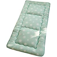 GDZFY Gruesas Antideslizante Cama Mat,Dormitorio Colchón de futón Plegable Colchones de futon Estera para
