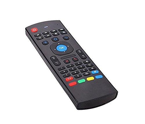 Romote 2.4G Control Remoto inalámbrico del Teclado del Ratón de Aire para MX-Q Smart TV Caja Kodi XBMC