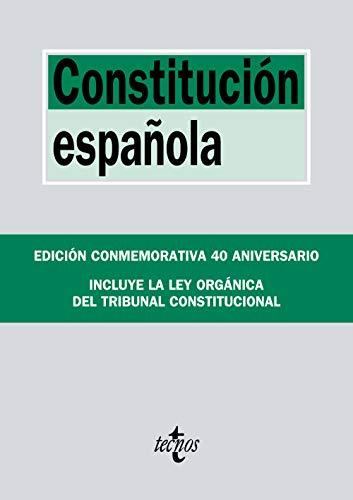Constitución Española: Incluye la Ley Orgánica del Tribunal Constitucional (Derecho - Biblioteca De Textos Legales) por Editorial Tecnos