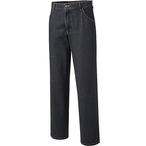 PIONIER WORKWEAR Herren 5-Pocket-Jeans mit Zollstocktasche in schwarz (Art.-Nr. 315) schwarz,Größe 31 (Jean 5-pocket-arbeit)
