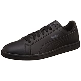 Puma Puma Smash Leather, Unisex-Erwachsene Sneaker, Schwarz (black-dark shadow 04 ), 39 EU