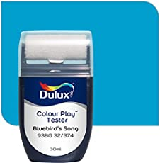 Dulux Color Play 30 ml Paint Tester (Bluebird's Song, Color Code: 93BG 32_374)