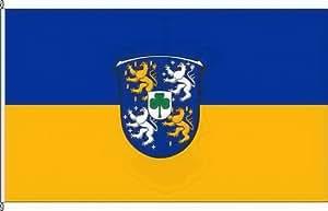 Königsbanner Hissflagge Usingen - 80 x 120cm - Flagge und Fahne