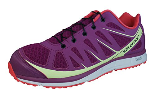 Chaussures Kalalau W Mystic Running Trail Salomon pourpre