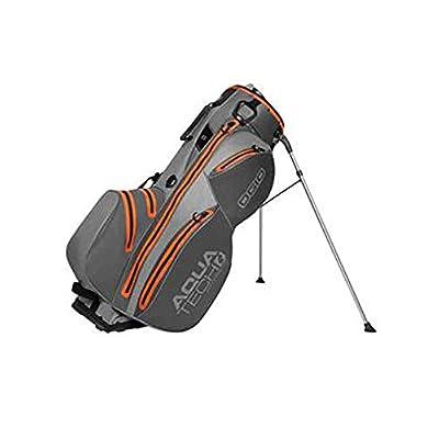 Ogio Unisex Aquatech Stand Bag, Grey/Burst - sports-outdoor-bags, golf-club-bags