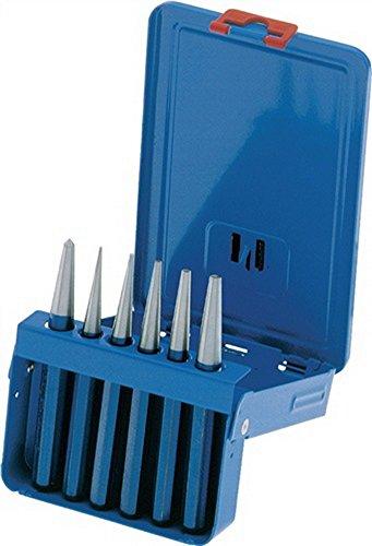 Preisvergleich Produktbild PEDDINGHAUS Durchtreibersatz 6tlg. 1-5mm +Körner 6631.11.0000