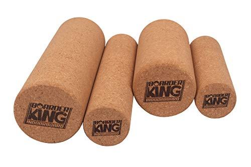 BoarderKING Korkrollen für Indoorboard Balanceboards Rolle Ersatzrolle (Kork, 150 mm x 45 cm)